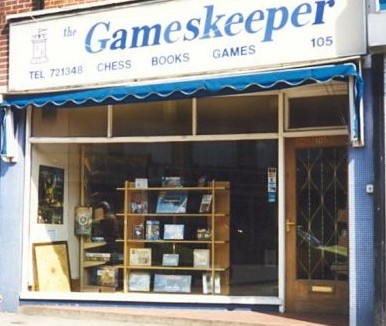 A High Street Games Shop