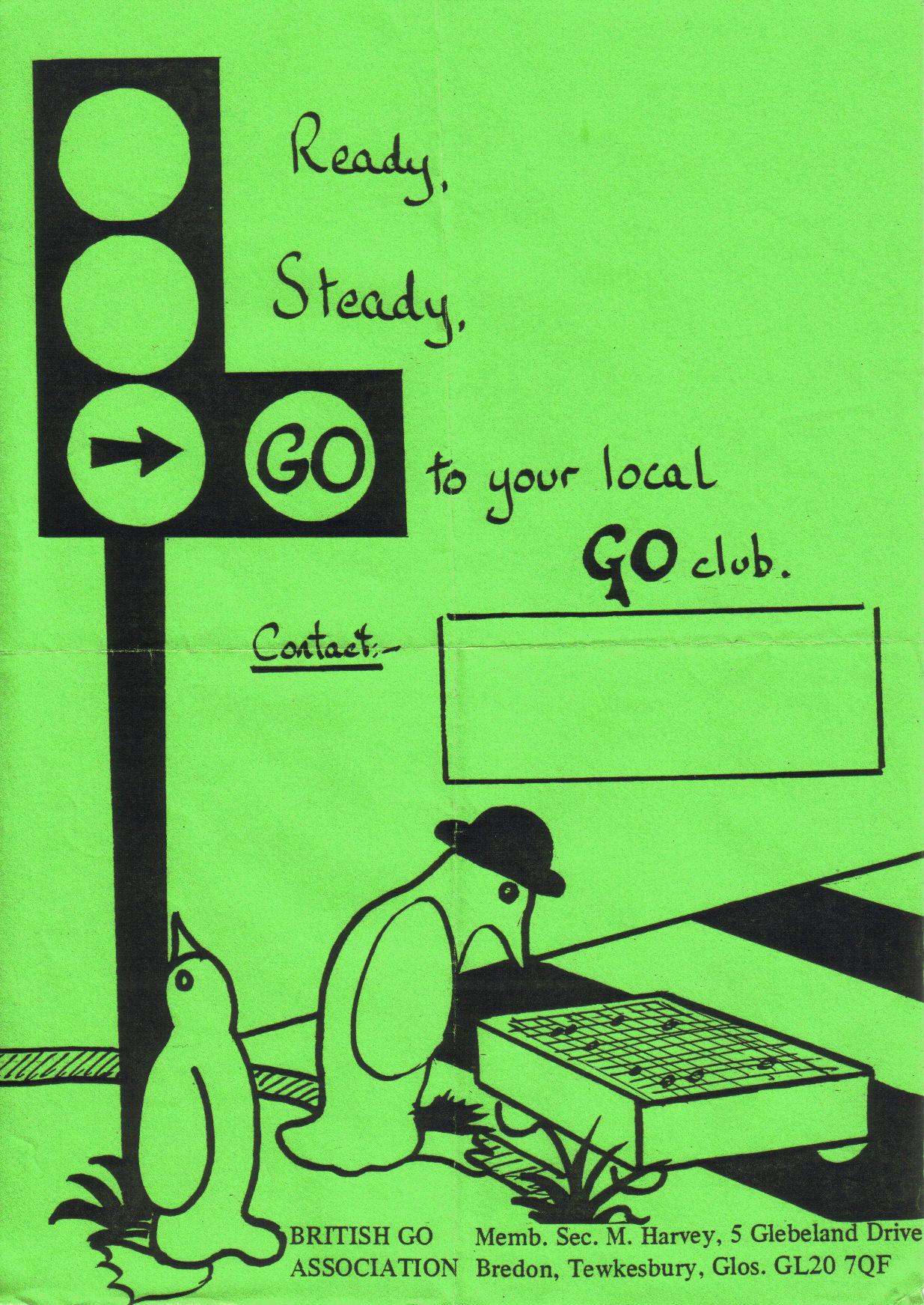 Obsolete: BGA Promotional Material   British Go Association