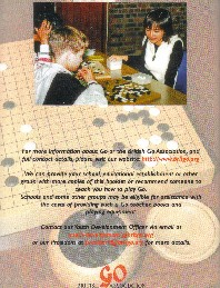 Rear Cover of Play Go Booklet