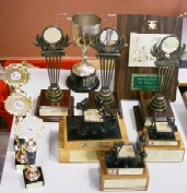 Various Youth trophies